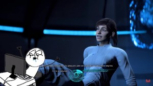 Create meme: mass effect andromeda Sarah Ryder, mass effect andromeda face Sarah Ryder, mass effect andromeda is the main character