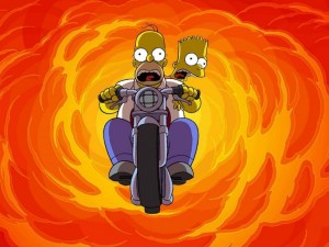 Создать мем: the simpsons movie, the simpsons, гомер симпсон