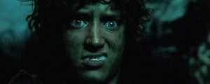 Создать мем: j r r tolkien, elijah wood, the lord of the rings the return of the king