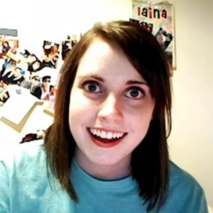 Create meme: overly attached girlfriend , meme , imgur