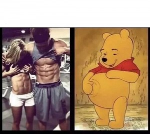 Create meme: fitness , funny meme , the picture with the text