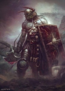 Создать мем: fantasy warrior, warrior art, dark warrior