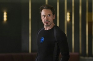 Создать мем: Tony Stark Iron Man in the Avengers