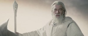 Create meme: model gandalf, gandalf helms deep, gandalf barriers