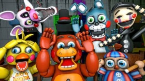 Create meme: five nights with Freddy , animatronics from fnaf 2, the toy animatronics of fnaf 4