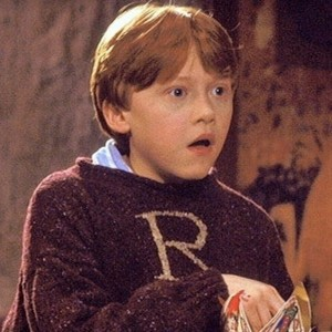 Create meme: Ron Weasley Christmas, Ron Weasley blue, harry potter and
