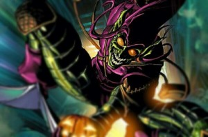 Create meme: Green Goblin