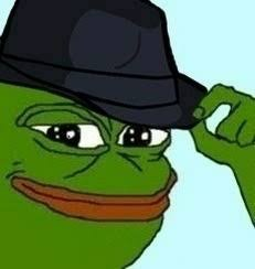 Create meme: pepe the frog , meme toad , my respect for Pepe