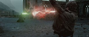 Create meme: harry potter and the deathly hallows part ii, Harry Potter and Voldemort, Harry Potter and the deathly Hallows 2 final battle