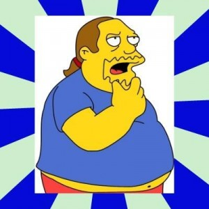 Создать мем: Comic book guy simpsons, the simpsons, guy