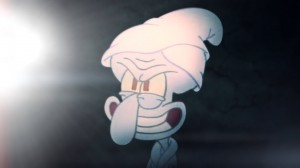 Create meme: squidward tenticals evil completes the ritual, gumball ▶ goodbye, squidward unfriendly Ghost scary episode