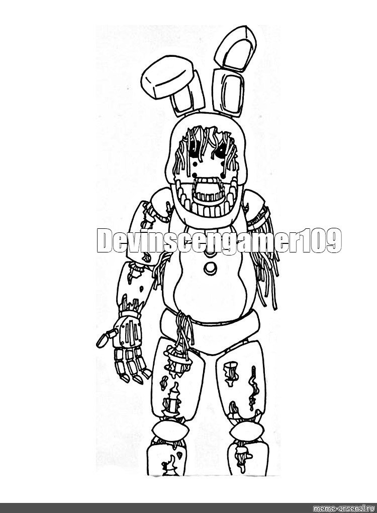 Create Meme Quot Fnaf Coloring Fnaf Toy Chica Coloring