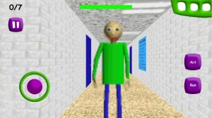Create meme: baldi basics in education and learning, download cheats Baldi, baldi basic game