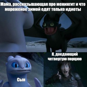 Create meme: meme with toothless and a day fury, how to train your dragon 3 toothless meme, how to train your dragon 3 memes