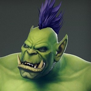 Создать мем: world of warcraft, wow orc face, orc kek face