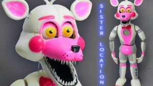 Создать мем: Mangle funtime foxy FNAF Мангл фантайм фокси ФНАФ