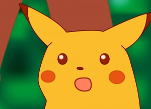 Create meme: Pikachu surprise, surprised Pikachu, pokemon