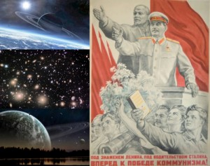 Создать мем: And Stalin our leader with faith in the people