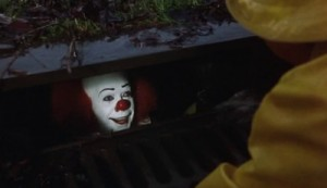 Create meme: Two thousand seventeen , king Stephen , a clown from the sewers