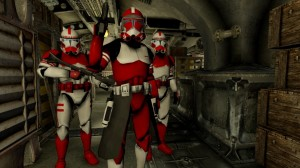 Создать мем: deadpool, clone trooper, clone wars