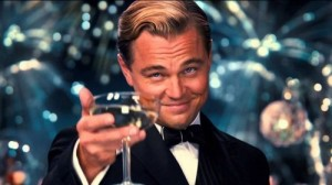 Create meme: memes , Leonardo DiCaprio , Leonardo DiCaprio with a glass of