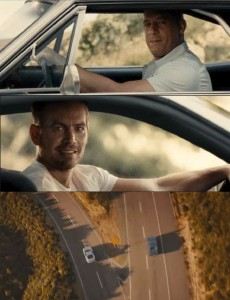 Создать мем: meme generator, meme template, - a tribute to paul walker