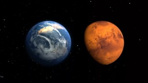 Create meme: The Mars approach the Earth in July 27
