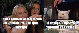 Создать мем: the real housewives of beverly hills, кадр из видео, woman and cat meme