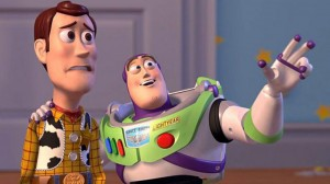 Create meme: toy story , everywhere , buzz Lightyear and woody meme everywhere they