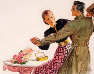 Create meme: poster women the equality of the USSR, illustration, artist walter martin baumhofer