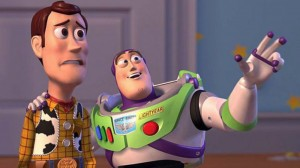 Create meme: everywhere meme, buzz Lightyear and woody, toy story they are everywhere