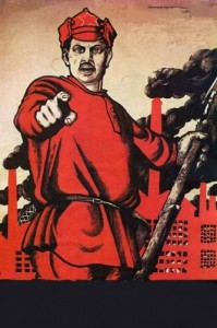 Create meme: and you volunteered poster without lettering, poster of the USSR and you volunteered, and you volunteered poster template