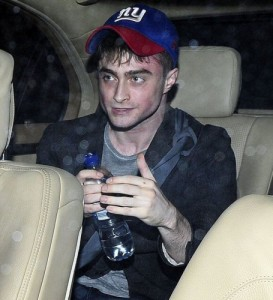 Создать мем: I was not drunk Harry Potter