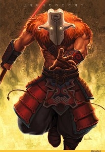 Create meme: art juggernaut dota 2 balance of the bladekeeper, dota 2 juggernaut female, Juggernaut DotA 2 art