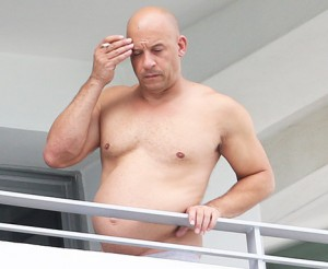 Create meme: On-the-Balcony-VIN diesel