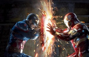 Create meme: iron man and captain America fighting art, captain America and iron man, The first avenger: the Confrontation