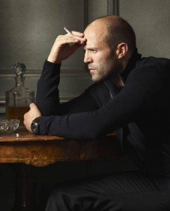 Create meme: Jason Statham quotes, Jason Statham with a child, Jason Statham with a cigarette