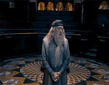 Create meme: Harry Potter , Michael Gambon, Dumbledore well, all fucked up