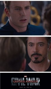 Create meme: civil war , The first avenger: the Confrontation, captain America and iron man meme