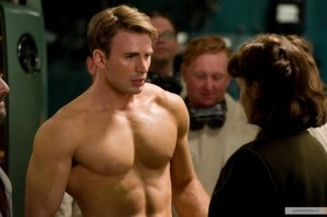 Создать мем: captain america the first avenger, chris evans shirtless, крис эванс капитан америка