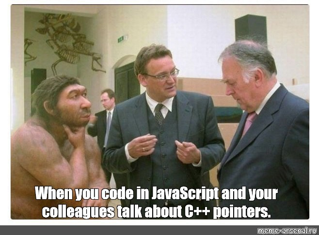 Somics Meme When You Code In Javascript And Your Colleagues Talk