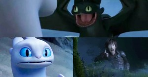 Create meme: to train your dragon 3, day fury and toothless, How to train your dragon
