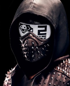 Create meme: avatars for gamers in the mask, watch dogs Legion mask, ranch watch dogs 2