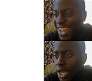 Create meme: disappointed black guy , memes about blacks, Negro