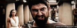 Создать мем: это спарта, this is sparta гиф, this is sparta gif