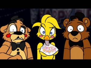 Create meme: Five nights with Freddy
