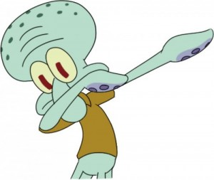 Создать мем: сквидвард мем шаблон, картинки сквидварда дэб, squidward dab