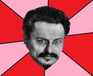 Создать мем: Trotsky Want a Cracker, leon trotsky, троцкий л д