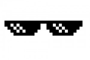Create meme: pixel glasses swag no background, pixel glasses png, pixel glasses mlg