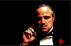 Создать мем: the godfather, крестный отец, marlon brando godfather